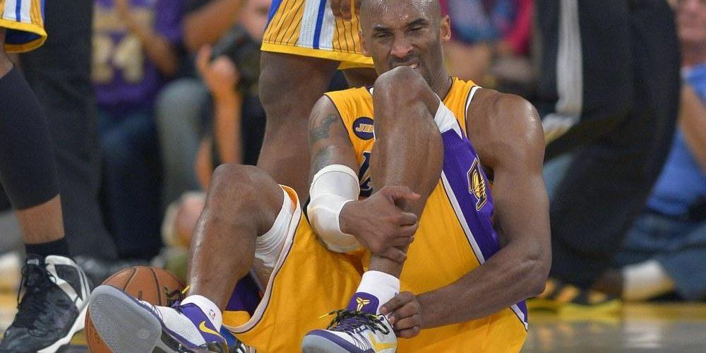 ankle injury kobe