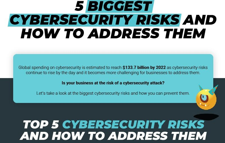 What are the Biggest Cybersecurity Risks? How Can You Address Them? (Infographic)